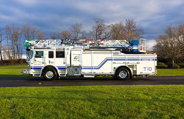 75' Heavy Duty Aluminum Aerial Ladder