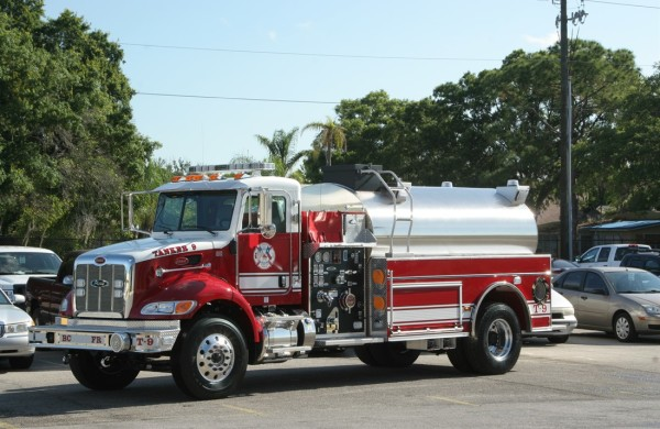 Commercial Elliptical Single Axle Tanker