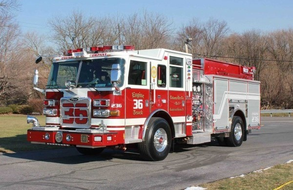 Pierce Custom Pumper Configurations