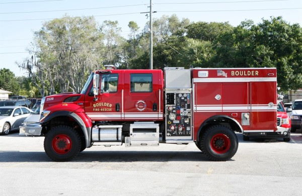 Wildland Pumper