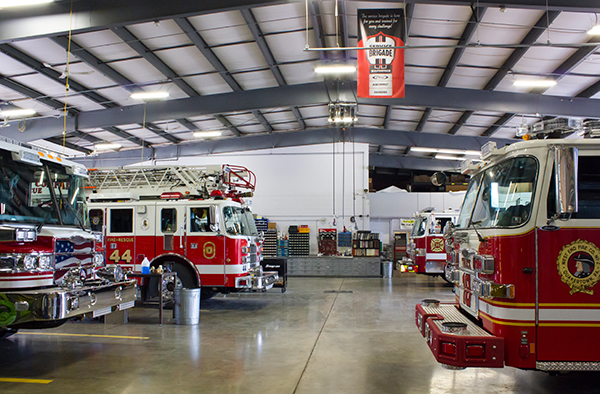 Glick Fire Equipment - career opportunity - fire apparatus service shop