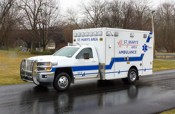 St. Marys Area - Demers MXP-150 Type I Ambulance - driver front