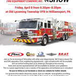 Glick Road Show Flyer - Old Lycoming Township VFD