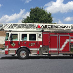 Pierce Enforcer Ascendant PUC - aerial ladder fire truck - demo for sale