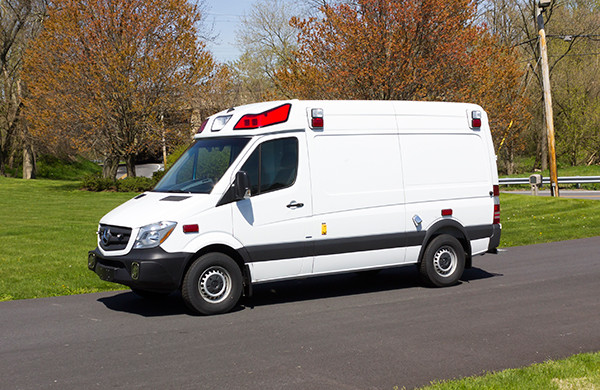 2016 Demers Type II ambulance - Mercedes Sprinter - driver front