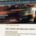 PA fire grants website - Pennsylvania state fire commissioner's website