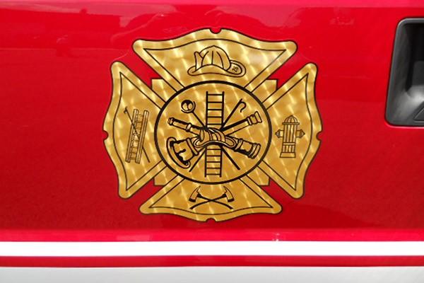 Pierce Ford F-550 fire squad unit - new fire squad sales in Pennsylvania - custom graphics