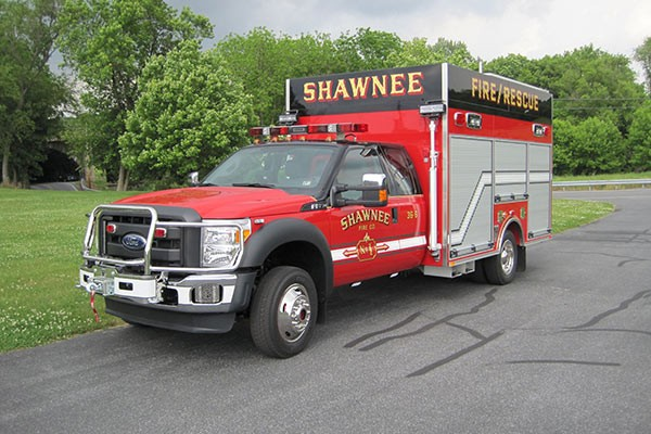 new Pierce mini fire rescue vehicle sales in Pennsylvania - Glick Fire Equipment - driver front