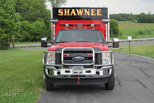 new Pierce mini fire rescue vehicle sales in Pennsylvania - Glick Fire Equipment - front