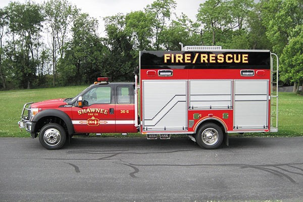 new Pierce mini fire rescue vehicle sales in Pennsylvania - Glick Fire Equipment - driver side