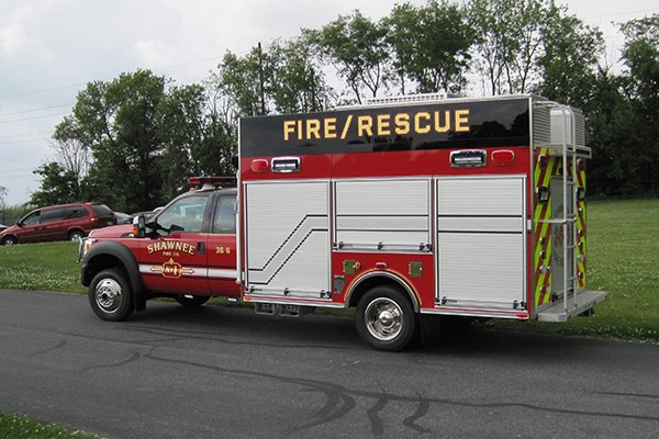 new Pierce mini fire rescue vehicle sales in Pennsylvania - Glick Fire Equipment - driver rear