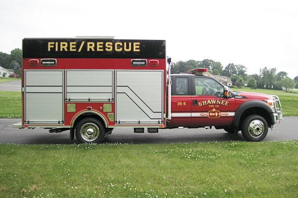 new Pierce mini fire rescue vehicle sales in Pennsylvania - Glick Fire Equipment - passenger side