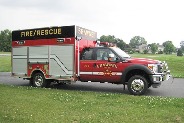 new Pierce mini fire rescue vehicle sales in Pennsylvania - Glick Fire Equipment - passenger front