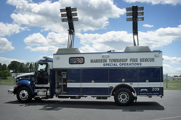 new light salvage rescue vehicle sales - Glick Fire Equipment - extended light towers