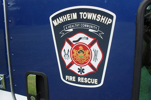 Manheim Township Fire Rescue company logo - new light salvage rescue vehicle