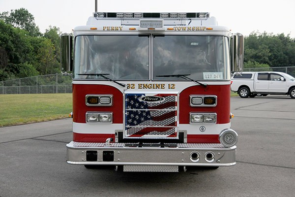 2012 Pierce saber fire engine pumper - new apparatus sales in PA - front