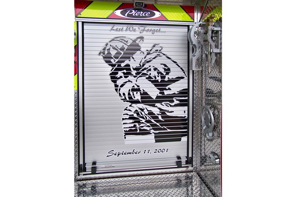 2012 Pierce saber fire engine pumper - new apparatus sales in PA - lest we forget