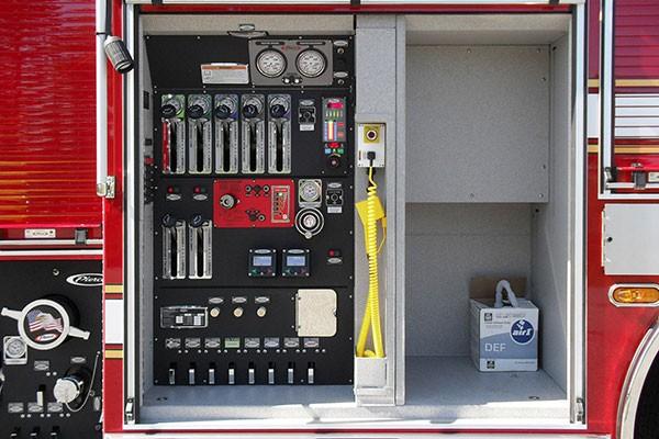 old fire engine wiring diagram upper allen fd - glick fire equipment company