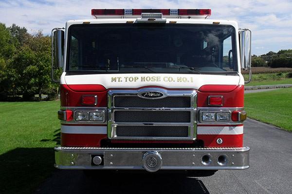 Pierce Impel pumper - new fire engine sales in Pennsylvania - front