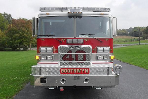 Pierce Arrow XT rescue pumper - Glick FIre new rescue fire engine sales in PA - front