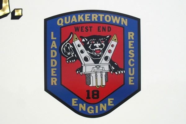 Pierce Arrow XT walk-in rescue - new fire rescue sales in Pennsylvania - Quakertown logo