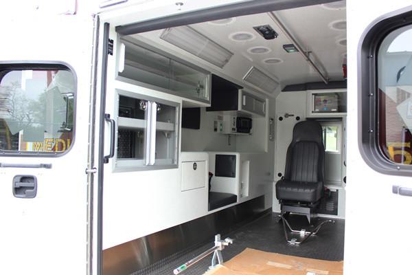 Braun Signature Series Type III ambulance - new ambulance sales - module interior driver side