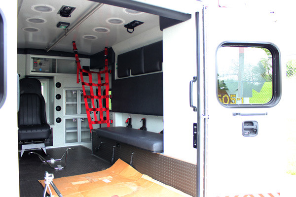 Braun Signature Series Type III ambulance - new ambulance sales - module interior passenger side