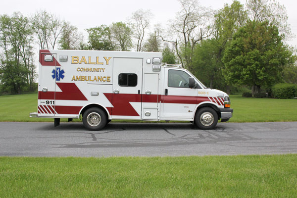 Braun Signature Series Type III ambulance - new ambulance sales - passenger side