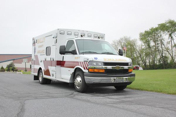 Braun Signature Series Type III ambulance - new ambulance sales - passenger front