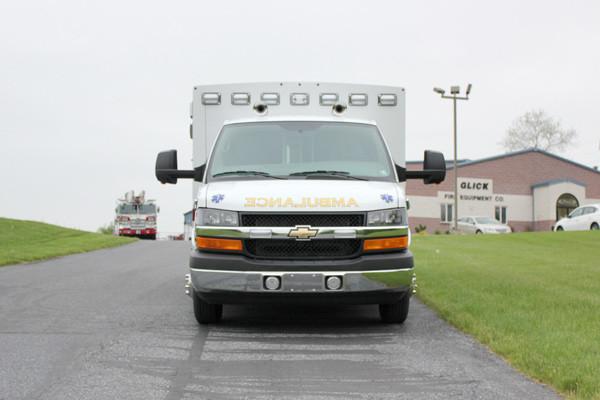 Braun Signature Series Type III ambulance - new ambulance sales - front