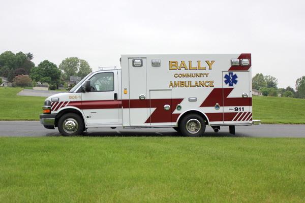 Braun Signature Series Type III ambulance - new ambulance sales - driver side