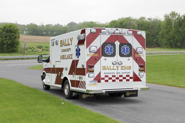 Braun Signature Series Type III ambulance - new ambulance sales - driver rear