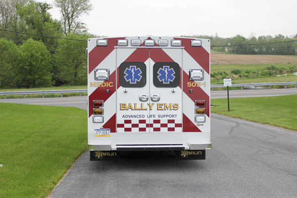 Braun Signature Series Type III ambulance - new ambulance sales - rear