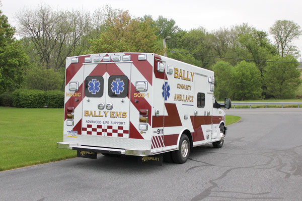 Braun Signature Series Type III ambulance - new ambulance sales - passenger rear