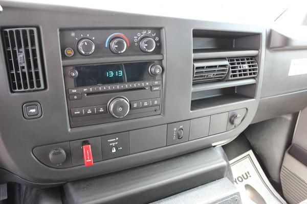 new ambulance sales in PA - 2014 Braun Chief XL Type III - cab interior