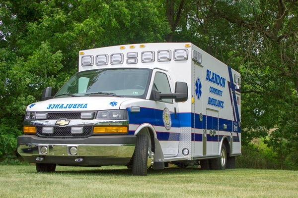 Braun Chief XL Type III ambulance - new ambulance sales in PA - driver front