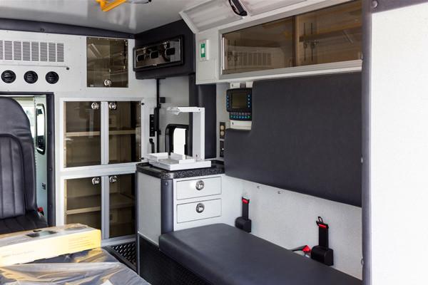 Braun Chief XL Type III ambulance - new ambulance sales in PA - module interior passenger side