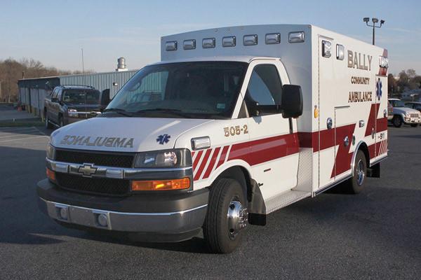 2013 Braun Signature Series - type III ambulance - new ambulance sales in PA - driver front
