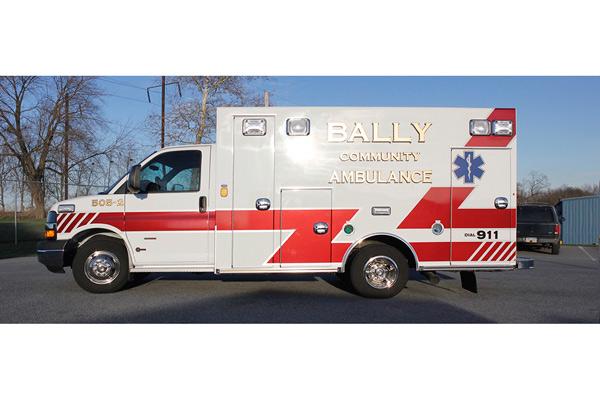 2013 Braun Signature Series - type III ambulance - new ambulance sales in PA - driver side