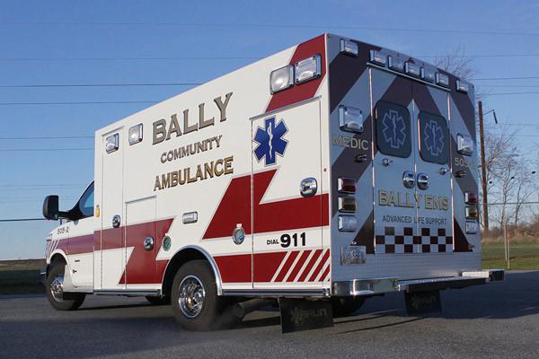 2013 Braun Signature Series - type III ambulance - new ambulance sales in PA - driver rear