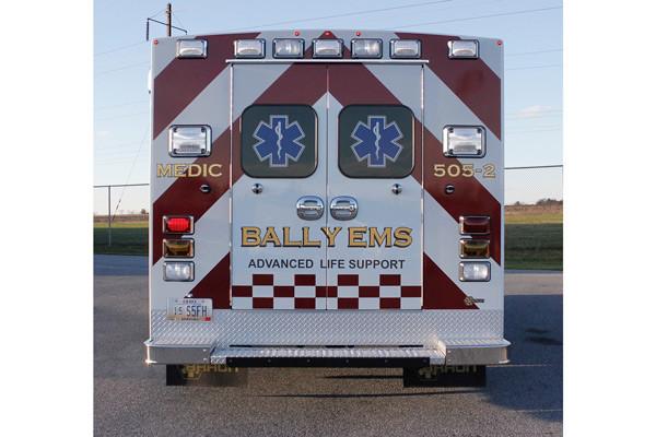 2013 Braun Signature Series - type III ambulance - new ambulance sales in PA - rear