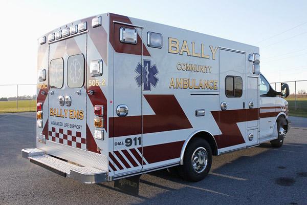 2013 Braun Signature Series - type III ambulance - new ambulance sales in PA - passenger rear