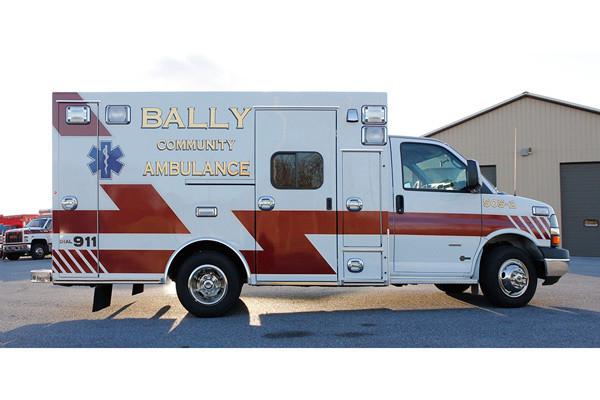 2013 Braun Signature Series - type III ambulance - new ambulance sales in PA - passenger side