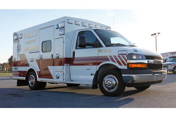 2013 Braun Signature Series - type III ambulance - new ambulance sales in PA - passenger front