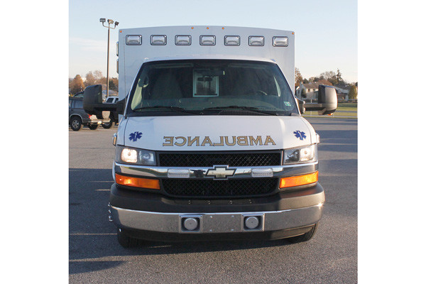 2013 Braun Signature Series - type III ambulance - new ambulance sales in PA - front