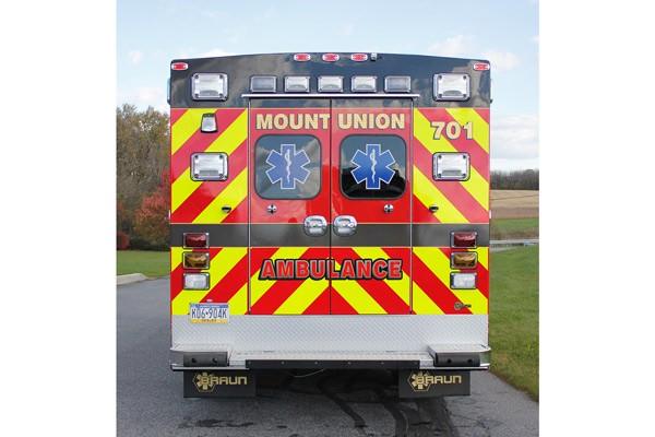 2014 Braun Chief XL - new type I ambulance sales in Pennsylvania - rear