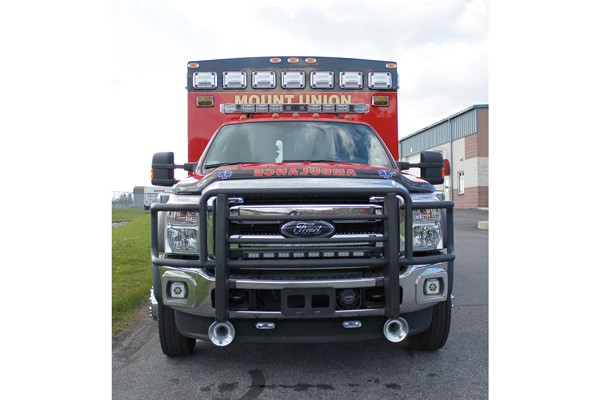 2014 Braun Chief XL - new type I ambulance sales in Pennsylvania - front