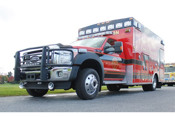 2014 Braun Chief XL - new type I ambulance sales in Pennsylvania - driver front