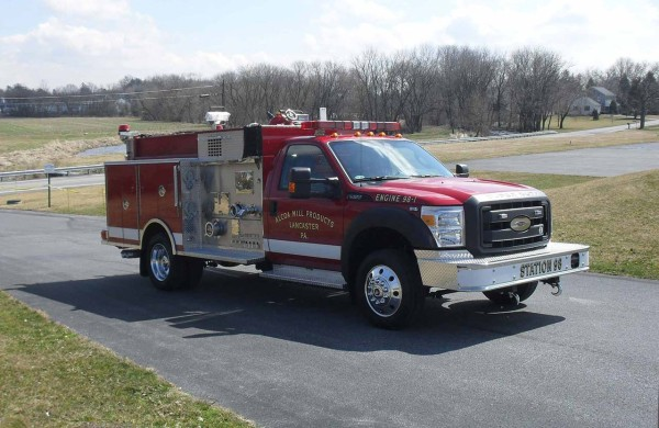 Alcoa Mill Products, Fire Truck