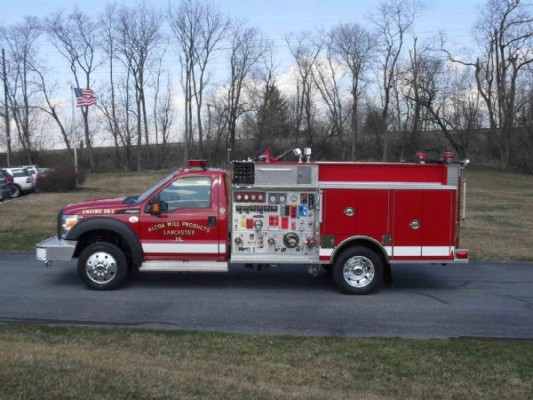 Alcoa Mill Products-Lancaster Sheet, Fire Truck